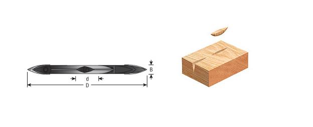 Insert Shaper Cutters