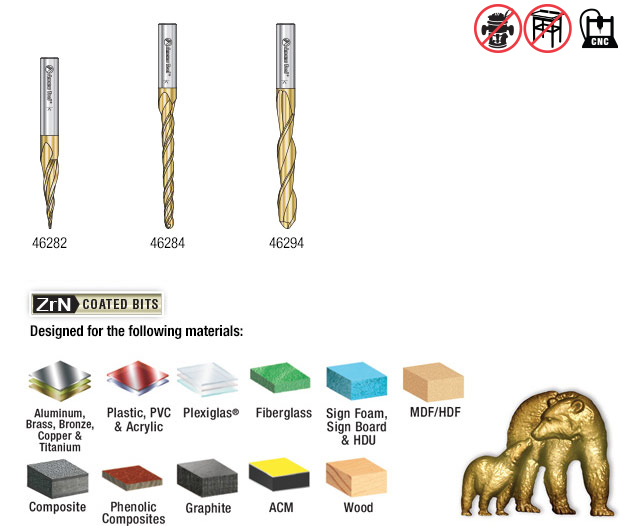 CNC Router Bit Sets