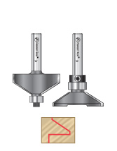 Profile Router Bits for Glass Doors