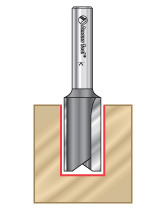 Straight Plunge Metric Router Bits