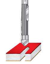 Stagger Tooth Panel Pilot Router Bits