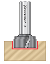 Bottom Cleaning Router Bits
