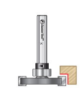 Straight Dedicated Cutter with Changeable Bearing Router Bits for Flooring