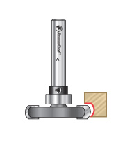 Rounded Dedicated Cutter with Changeable Bearing Router Bits for Flooring