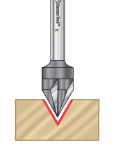 Solid Carbide Signmaking & Lettering Router Bits