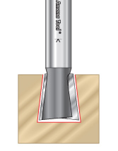 Stair Tread Router Bits
