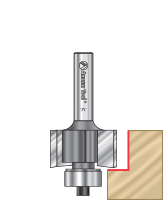 Rabbeting 3-Flute Router Bits
