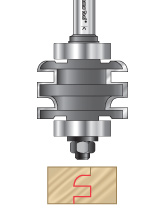One Piece Stile & Rail Router Bits