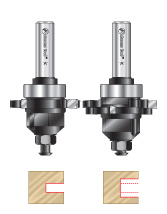 Adjustable Slotting Cutter Router Bit Sets
