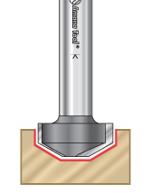 Raised Panel Groove Router Bits