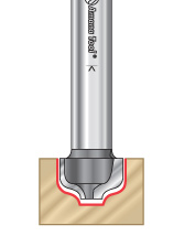 Ogee Groove Router Bits