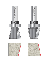 Top Mount Bowl & Counter-Top Router Bits with Upper Ball Bearing Guide