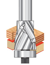 Spiral Flush Trim Compression Router Bits
