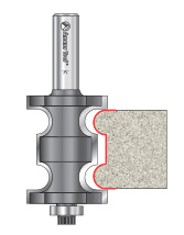 Double Bullnose Router Bits