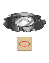 Lamello Insert Carbide Resin Pocket Shaper Cutters