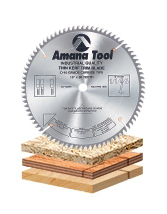 Plywood / Solid Wood / Chipboard Cutting Saw Blades For Extra Smooth Cut