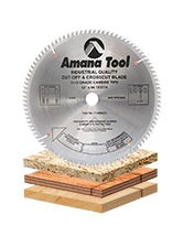 Plywood / Solid Wood / Chipboard Cutting Saw Blades with Extra Thick Plates