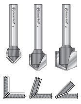 Aluminum Composite Material (ACM) Panel CNC Router Bit Sets
