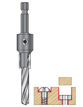 Carbide Tipped Counterbore Bits