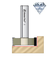 Diamond Tipped (PCD) CNC Spoilboard Router Bits