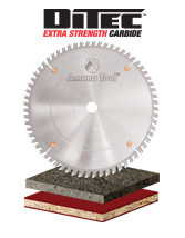 Solid Surface Saw Blades with Ditec Carbide Tips