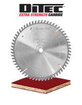 Single and Double Sided Laminate Cutting Saw Blades with Long Lasting Carbide