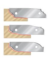 Insert Raised Panel Cutterhead Knives