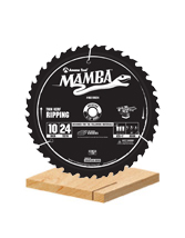 Thin Kerf Contractor Series Ripping Saw Blades