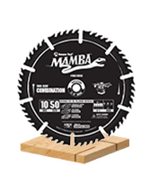 Thin Kerf Contractor Series Combination Saw Blades