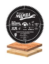 Thin Kerf Contractor Series Miter Saw Blades