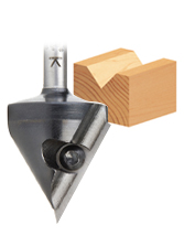 Insert Carbide V-Groove, Miter Fold & Signmaking CNC Metric Router Bit