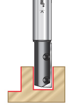 Straight Insert CNC Router Bits