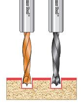 Solid Carbide Ditec™ Dowel Drills