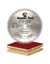 Thin Kerf Miter TC Grind Saw Blades