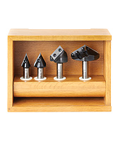 CNC Router Bit Sets - Industrial Solid Carbide & Carbide Tipped - Amana Tool