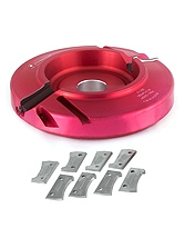Insert Shaper Cutters - Industrial Insert Carbide Shaper Cutters by Amana Tool