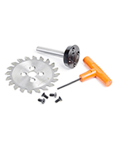 Plastic Trim Saw Blade and Arbor CNC System Replacement Parts