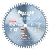 610601C Electro-Blu™ Carbide Tipped Prestige™ Heavy Duty General Purpose 10 Inch Dia x 60T TCG, 10 Deg, 5/8 Bore, Non-Stick Coated