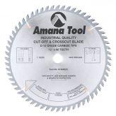612600 Carbide Tipped Cut-Off and Crosscut 12 Inch Dia x 60T ATB, 10 Deg, 1 Inch Bore