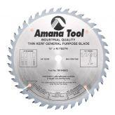 TB10400 Carbide Tipped Thin Kerf General Purpose 10 Inch Dia x 40T ATB, 15 Deg, 5/8 Bore