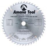 TB12480 Carbide Tipped Thin Kerf General Purpose 12 Inch Dia x 48T ATB, 15 Deg, 1 Inch Bore