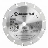 NC-820 Carbide Tipped Nail Cutting & Demolition 7-1/4 Inch Dia x 14T 5/8 Bore