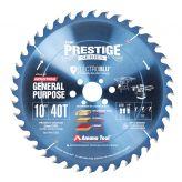 PR1040-30C Electro-Blu™ Carbide Tipped Prestige™ General Purpose 10 Inch Dia 40T ATB, 18 Deg, 30mm Bore, Non-Stick Coated