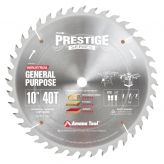 PR1040 Carbide Tipped Prestige General Purpose 10 Inch Dia 40T ATB, 18 Deg, 5/8 Bore