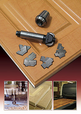 Amana Tool Introduces Mdf Cabinet Door Insert Bits For Cnc