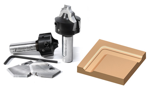 Amana Tool Announces Insert Router Bit Series For Creating
