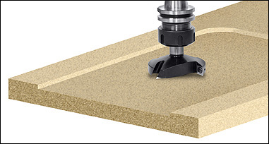 CNC Spoilboard Insert Router Bits