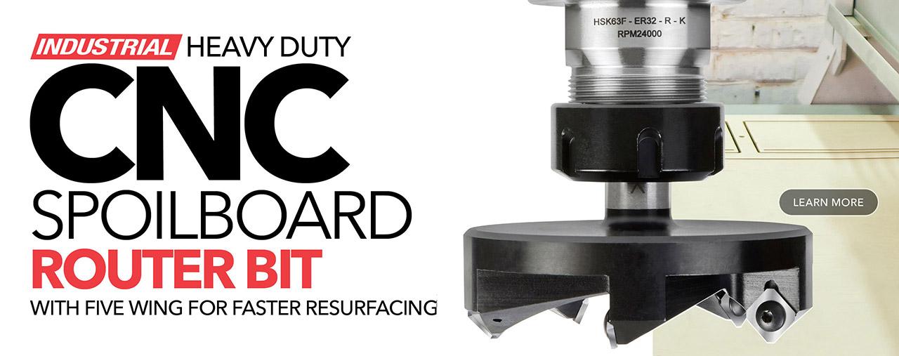 Insert Spoilboard CNC Bits