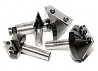 Amana Tool Industrial Insert V-Groove Router Bits