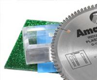 Amana Tool's Non-Melt Saw Blades Provide Clean Cuts in Acrylics and Other Plastics, Eliminate Chip-Welding